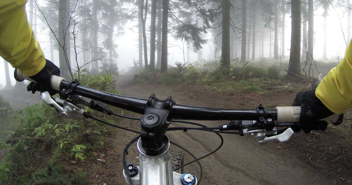 Cyclist's view of mountain biking in the Lake District