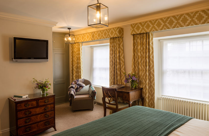 Hotel bedroom at Another Place, The Lake in Ullswater, Cumbria
