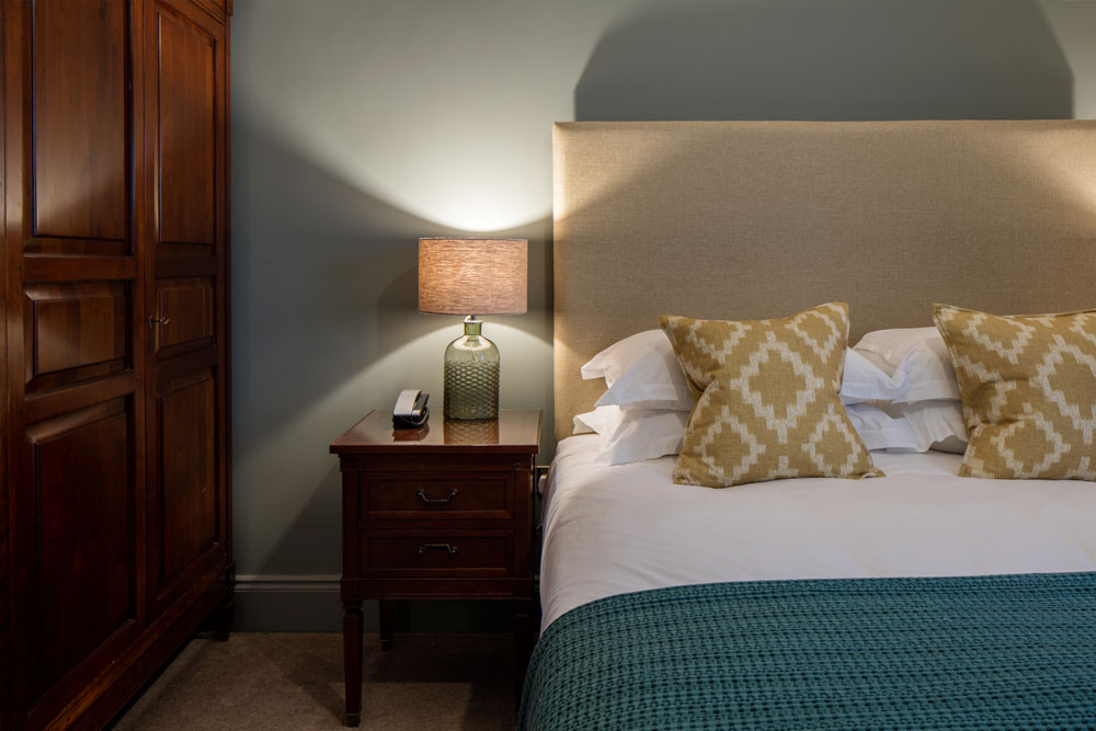 Standard hotel bedroom at Another Place, The Lake in Ullswater the Lake District