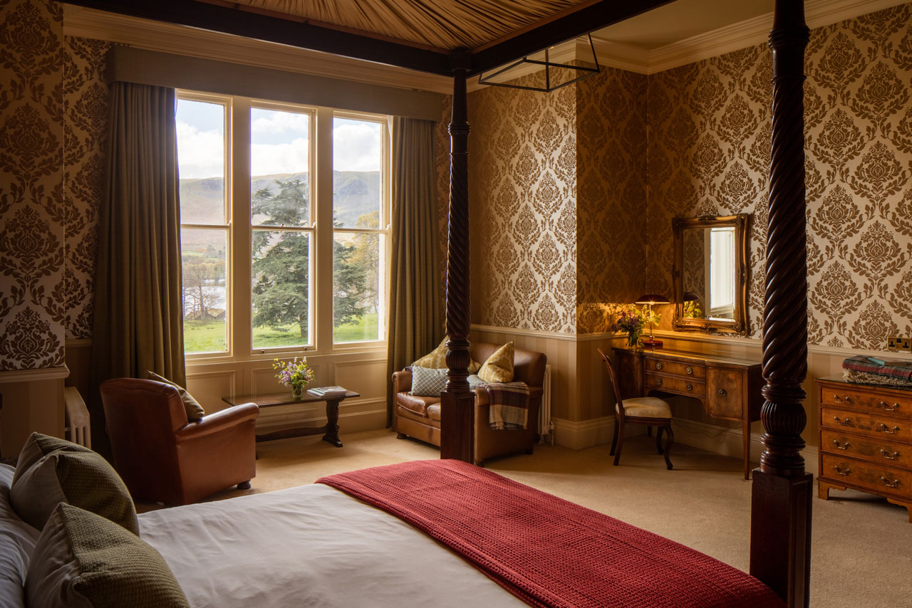 One of the suite hotel rooms at Another Place, The Lake