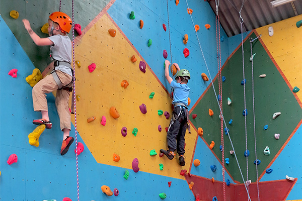 Indoor climbing wall – Distant Horizons