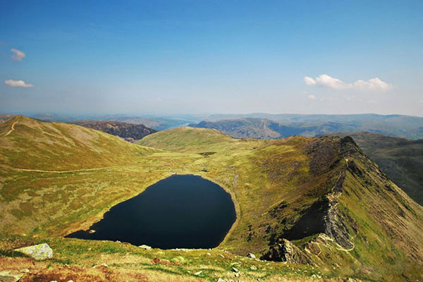 Crookabeck Farm and Red Tarn