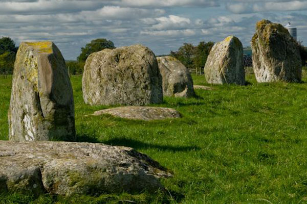 Stone circles in the Lake District