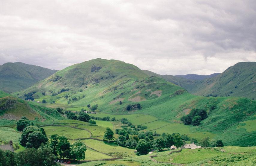 Lake District fells - Mountain Fitness Retreat