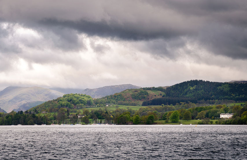 Ullswater with Another Place, The Lake by the lake shore