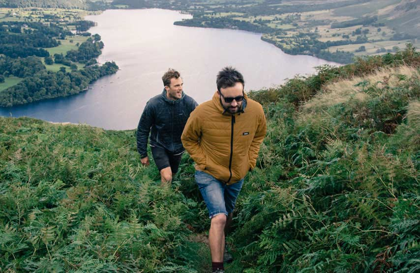Two friends fell walking in the Lake District
