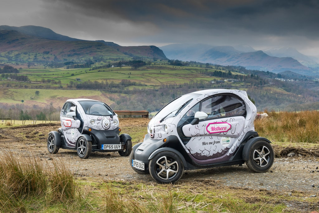Hire a Renault Twizy to enjoy during your stay
