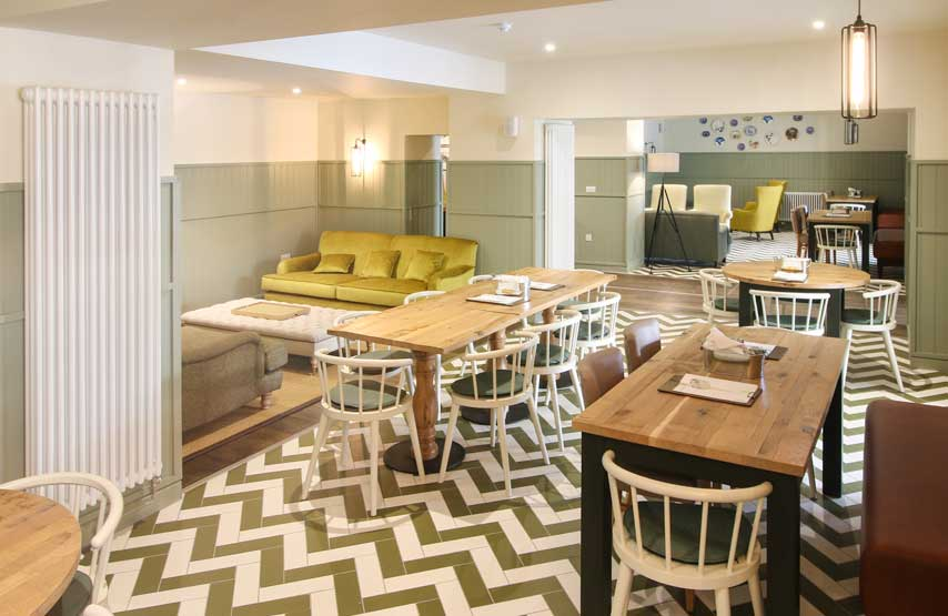 The Living Space at Another Place, a new hotel in the Lake District
