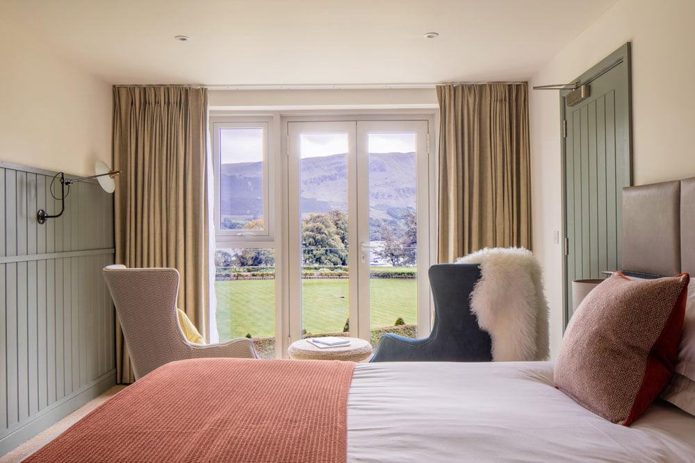 Better hotel bedroom at Another Place, The Lake in Ullswater the Lake District
