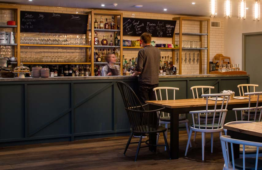 The Living Space restaurant and bar Ullswater