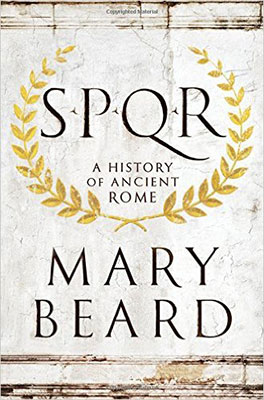 A History of Ancient Rome, by Mary Beard - front cover