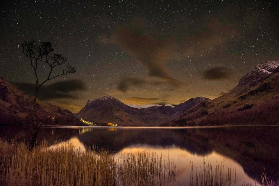 Stargazing in the Lake District