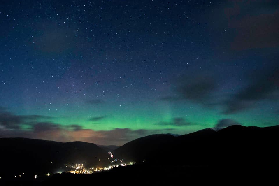 The stunning dark night sky on night walks in the Lake District