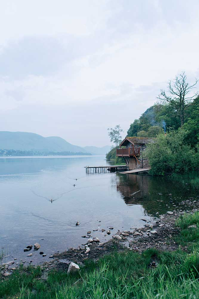 Duke of Portland Boathouse, Ullswater in the Lake District