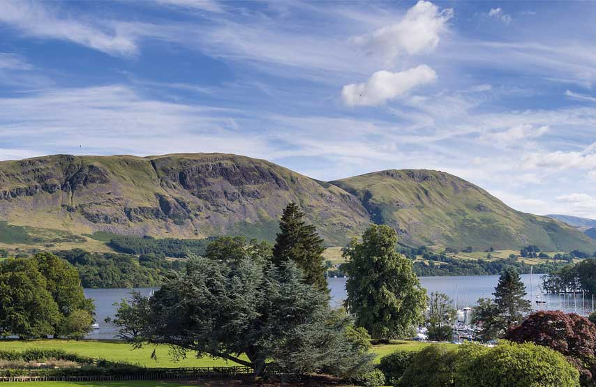 Views of Ullswater to the fells beyond from Another Place, The Lake