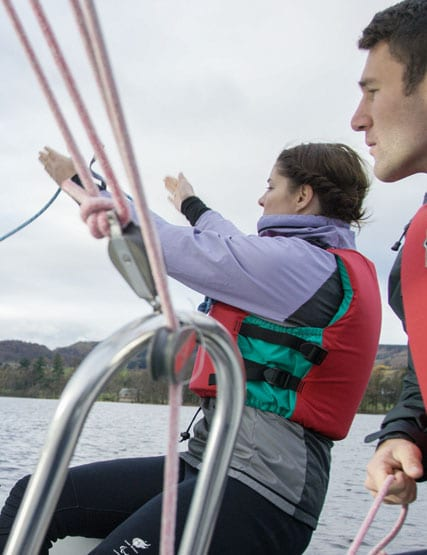 Sailing on Ullswater at Another Place, The Lake