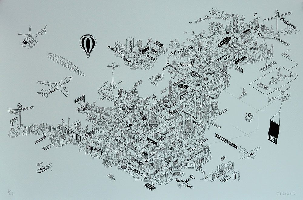 Shop On Every Corner by Jess Wilson