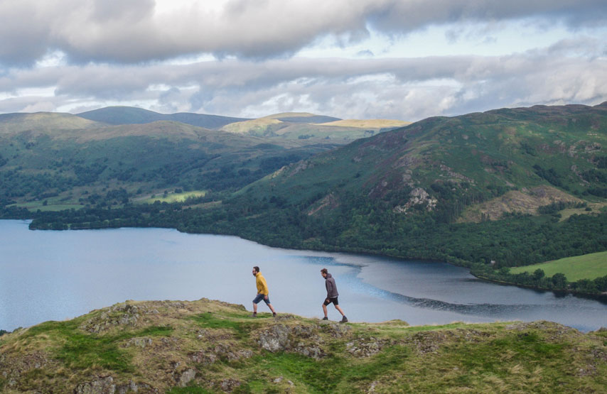 Walking holidays near Ullswater in the Lake District