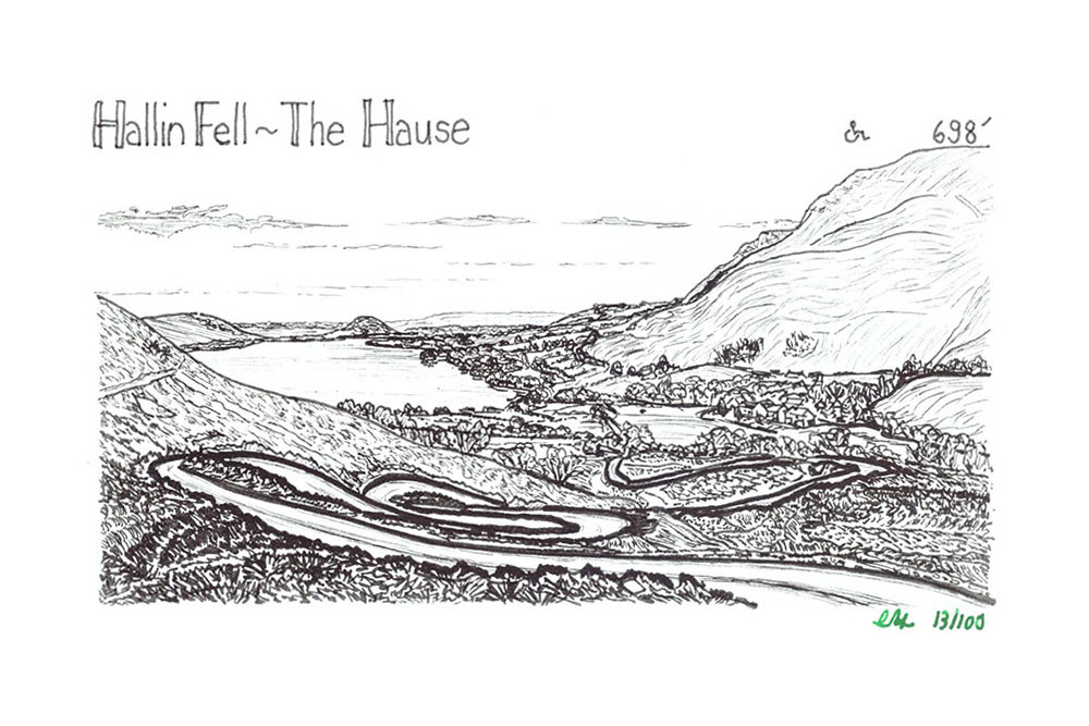 Hallin Fell to The Hause