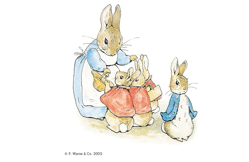 Peter Rabbit illustration