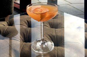Dalemain marmalade martini cocktail recipe