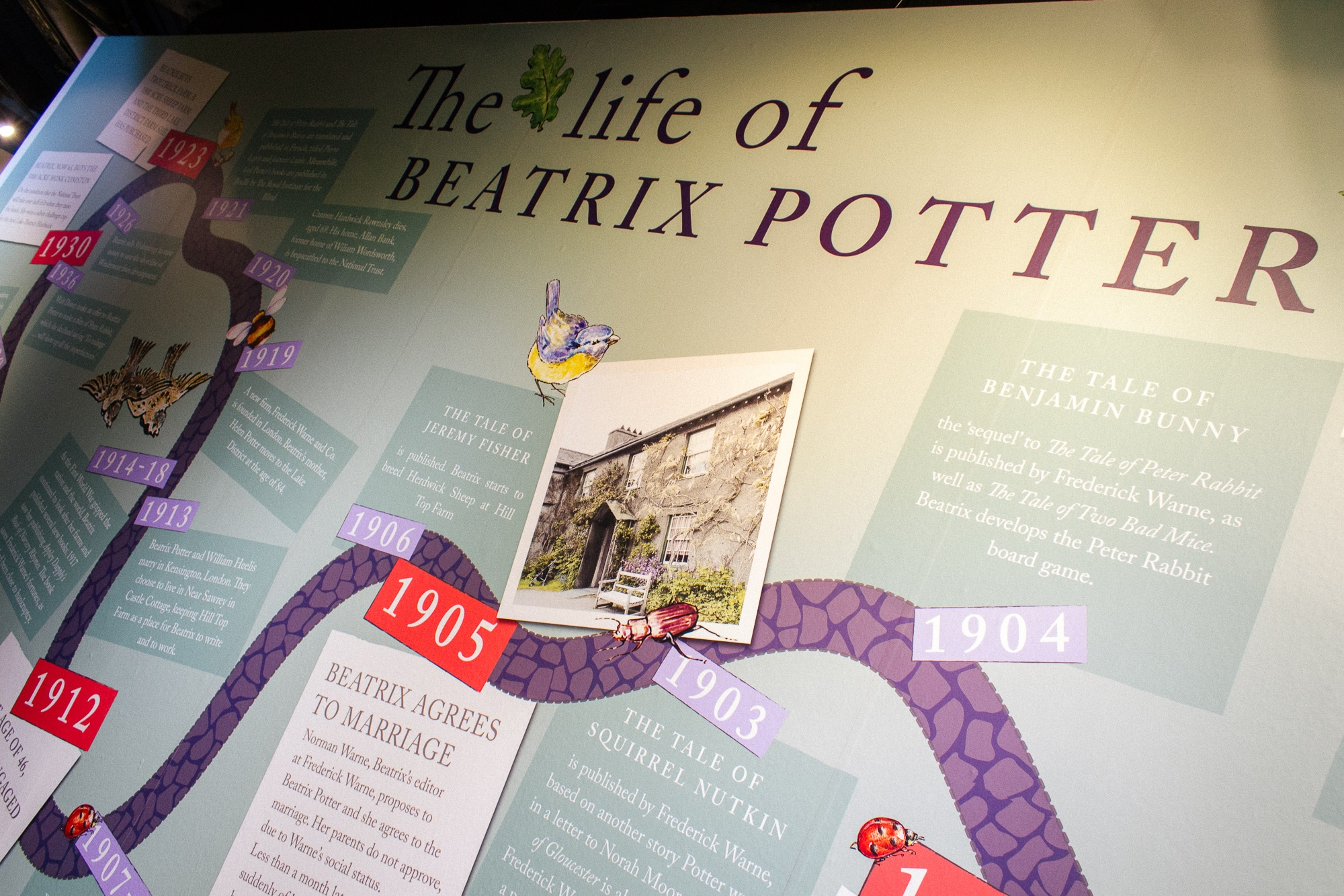 Rediscovering Peter Rabbit Rheged