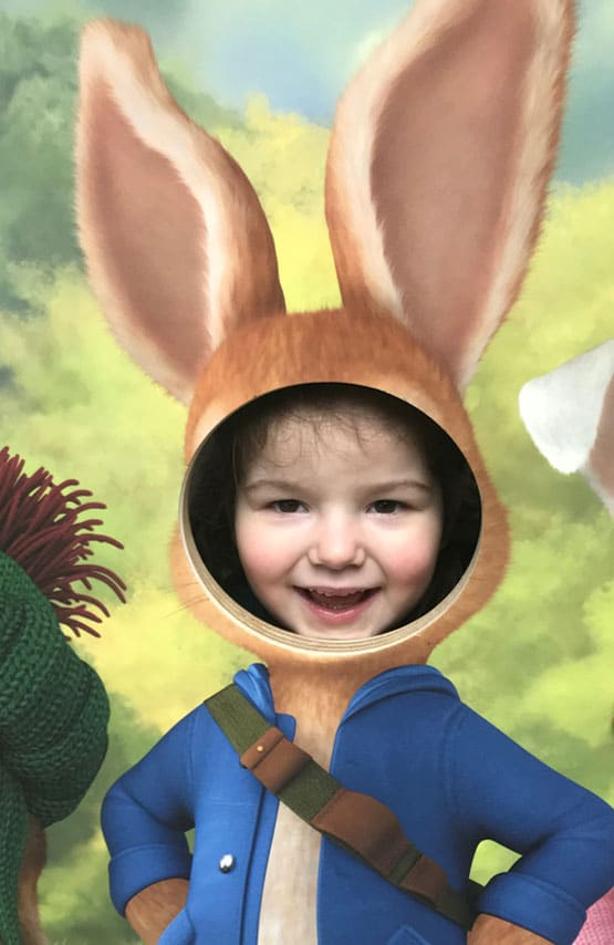 Peter Rabbit exhibition Rheged
