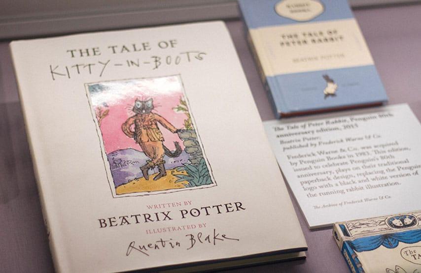 Peter Rabbit exhibition Rheged