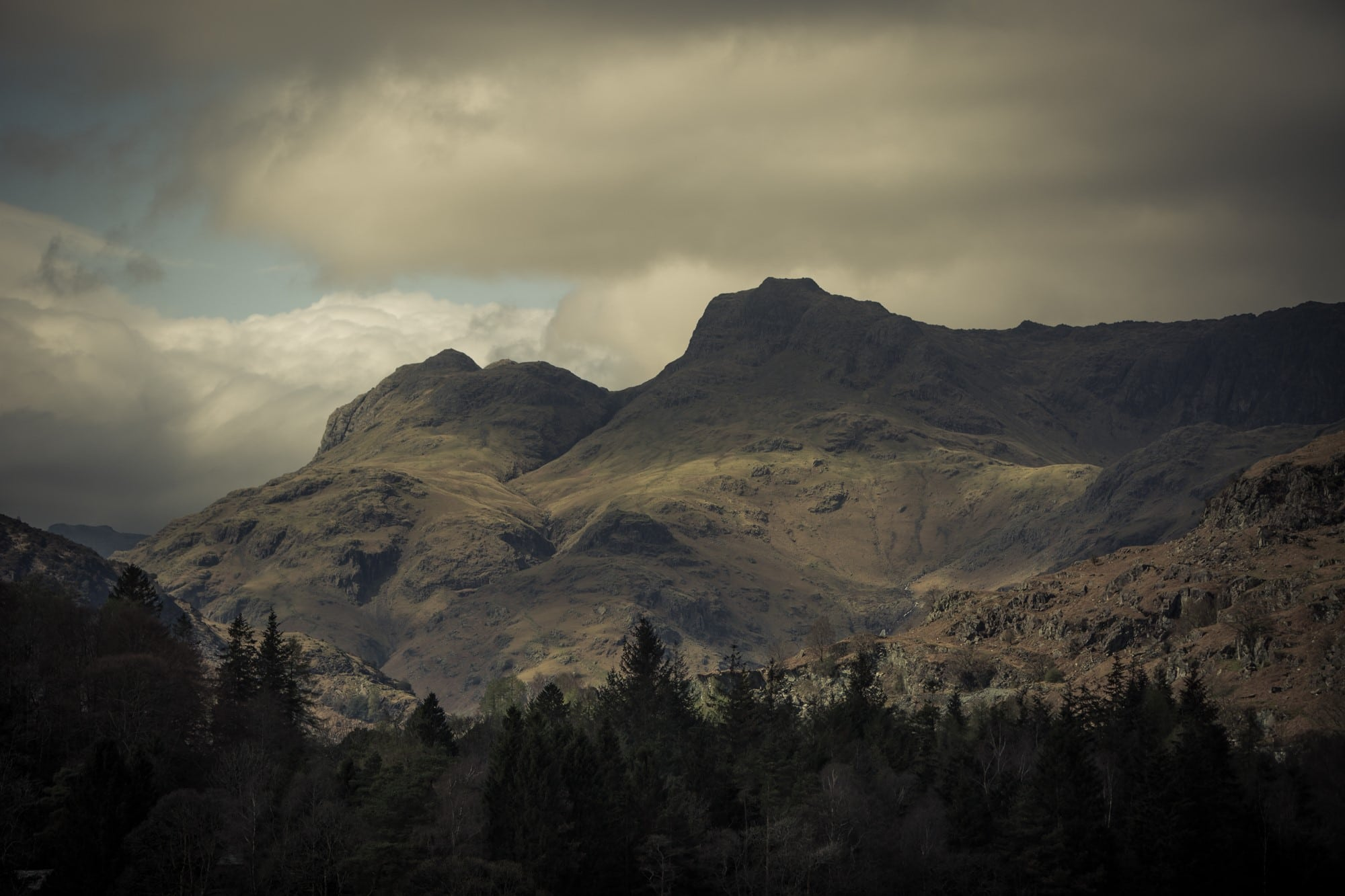 Langdale Valley with jess