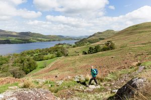 Hiking around Ullswater