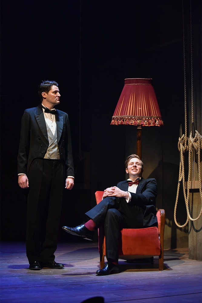 Jeeves & Wooster production at Theatre by the Lake