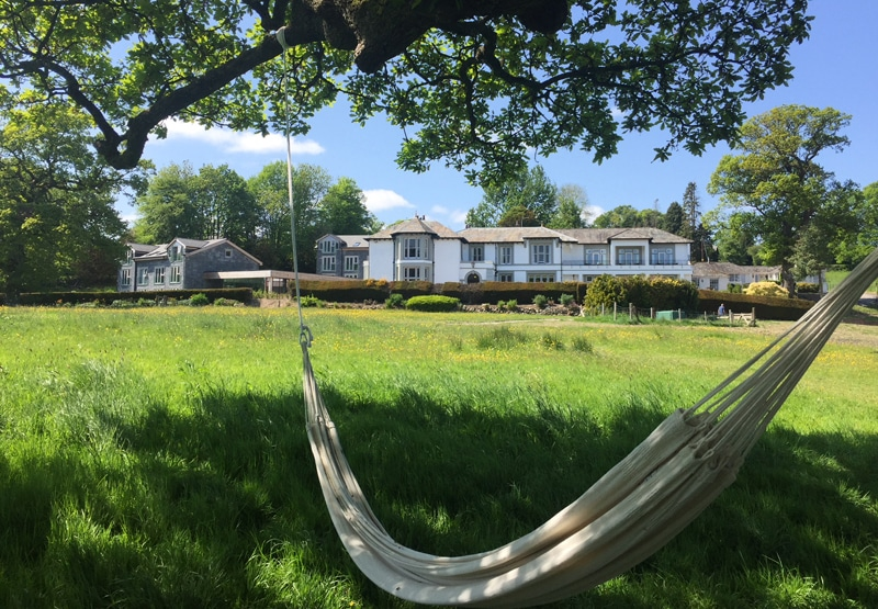 hammock in the another place garden