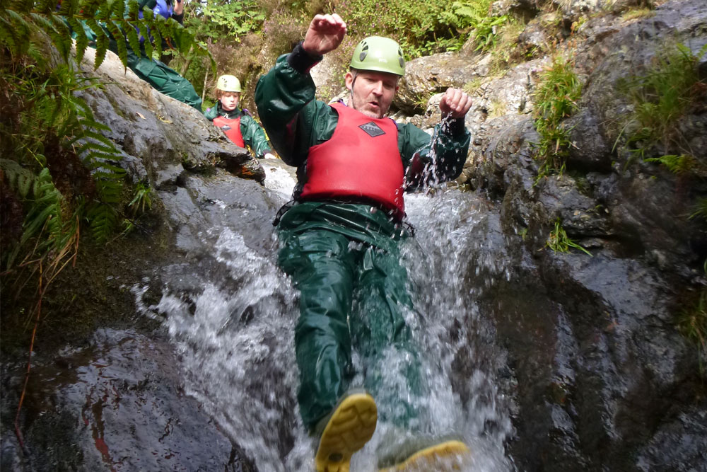 Canyoning around Ullswater