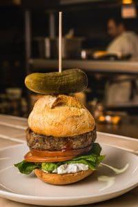 Charles Boer goat burger