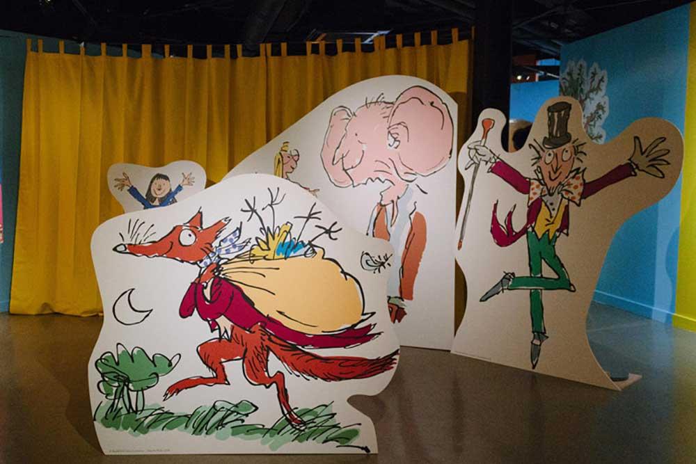 Roald Dahl's Wondrous World at the Rheged Centre