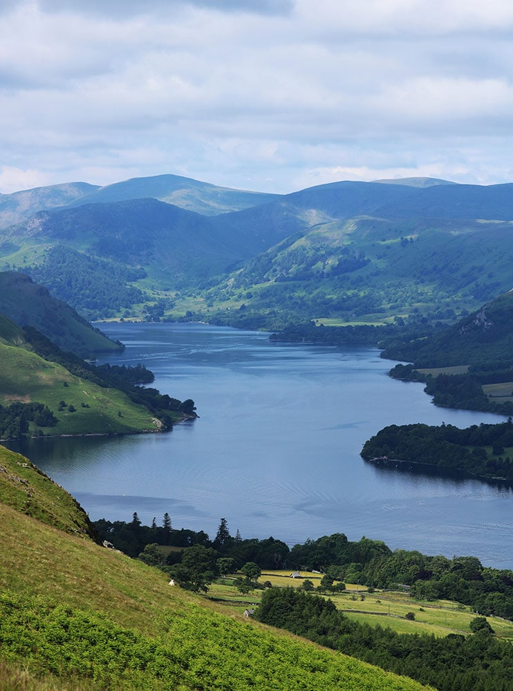 Views over Ullswater
