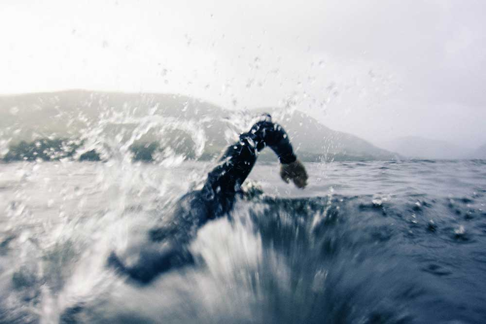 Swimming in Ullswater