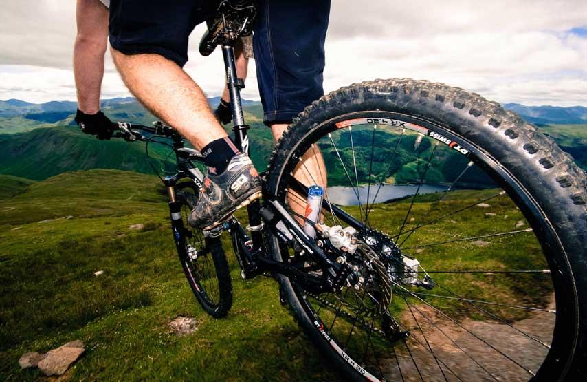 Mountain biking in the Lake District. Photo: Cumbria Tourism Library