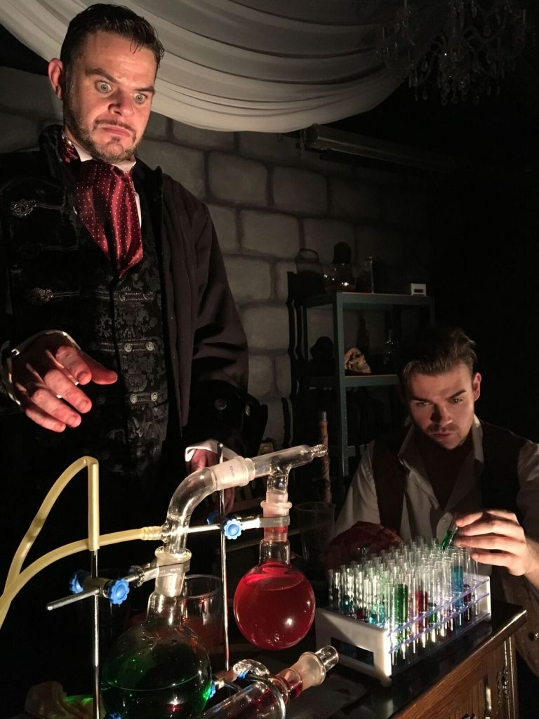 Dracula and Frankenstein at Rheged