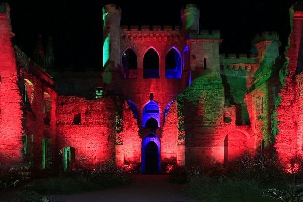 Lowther castle halloween