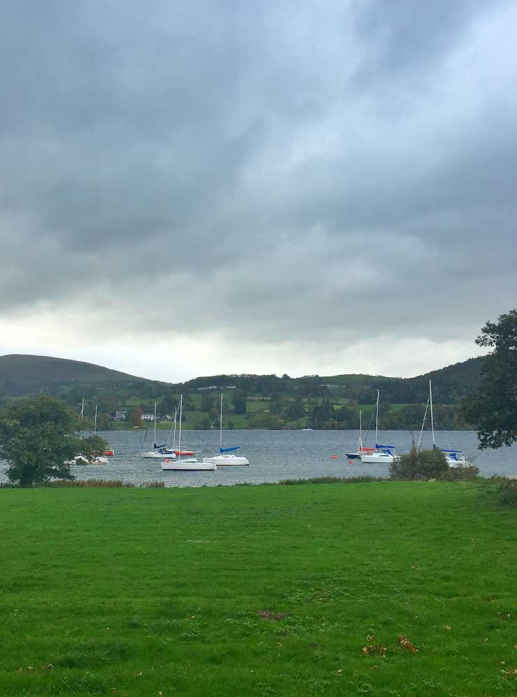 Yachts on Ullswater
