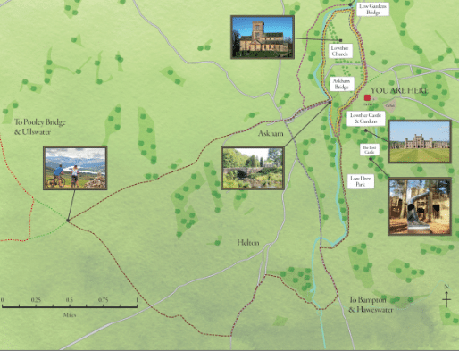 Lowther cycle trails