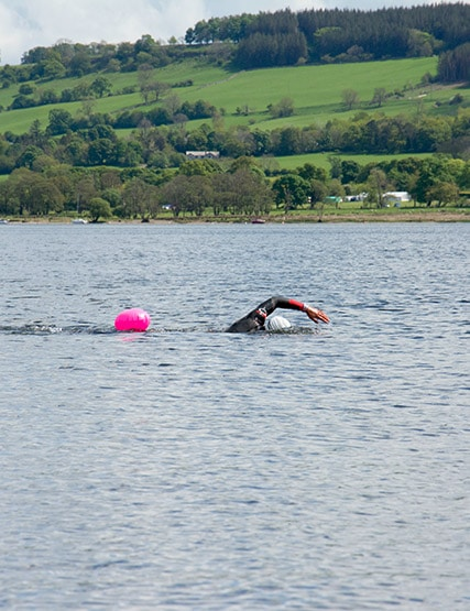 Swimming in Ullswater