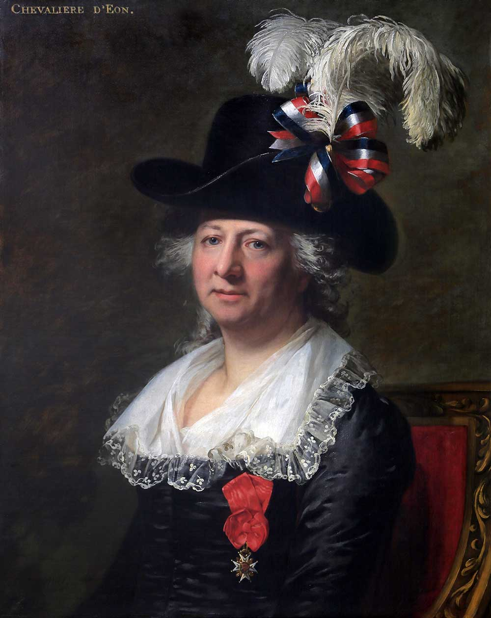 Chevalier D'Eon by Jean Paul Mosnier