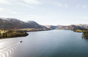 The Ullswater Steamer in winter