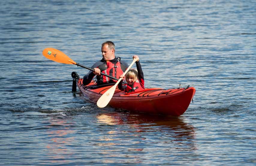 kayaking in the lake district UK