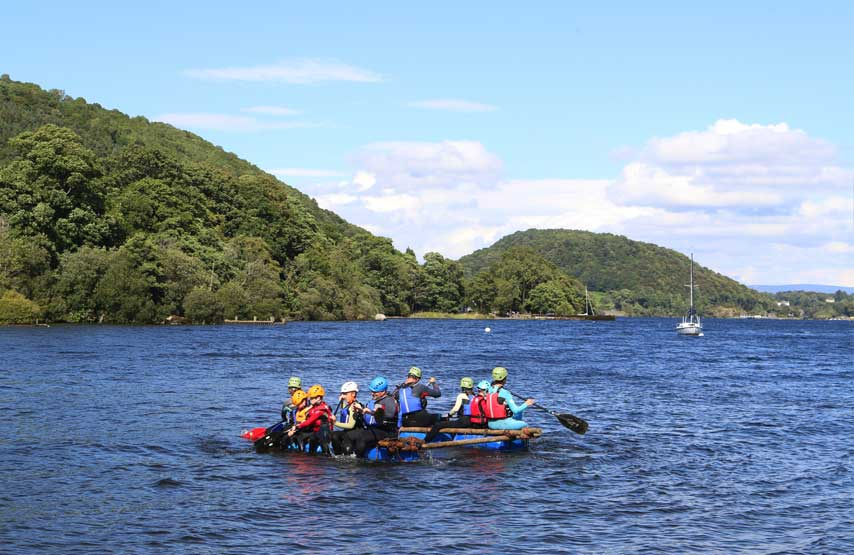 paddling on ullswater
