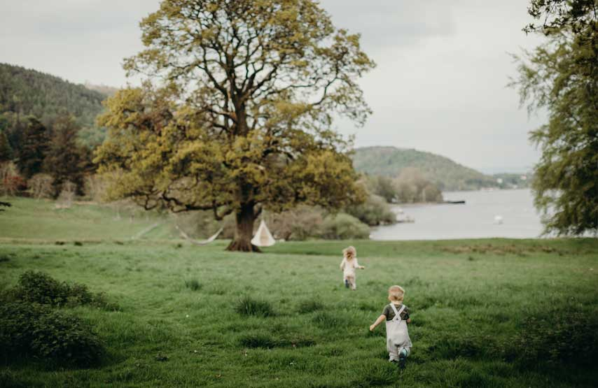 children at another place in ullswater