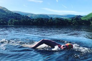 Summer Swims in the Lakes by Colin Hill