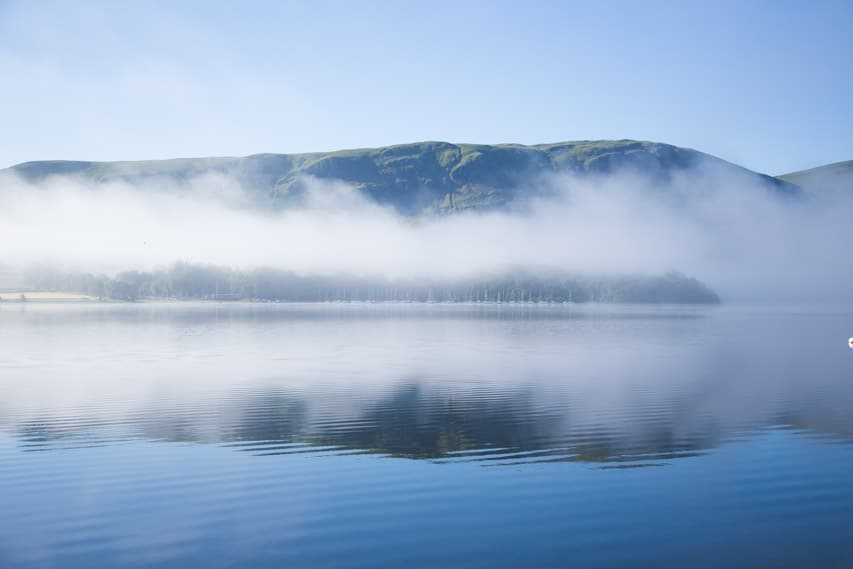 Mist over the lake, Samuel Crosby Photography